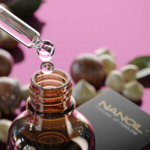 Nanoil Macadamiaöl für schöne Haare