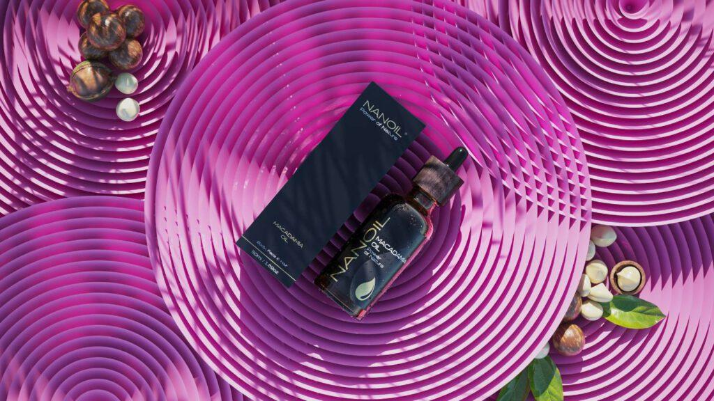 Nanoil Macadamiaöl für gesunde Haut